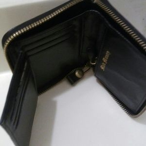 Suede black Juicy Couture wallet